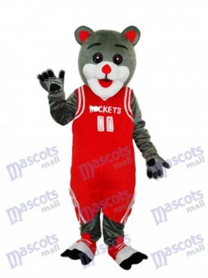 Déguisement d'ours mascotte de Rockets de Houston Animal