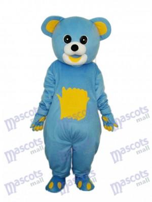 Déguisement de mascotte jaune ours jaune mascotte animal