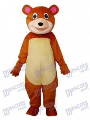 Ours à bouche ronde mascotte Costume adulte Animal