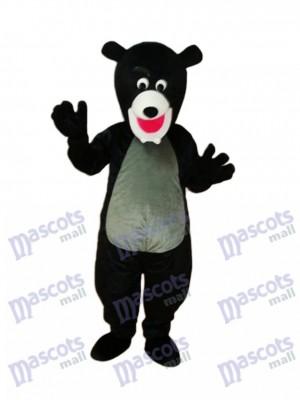 Mascotte de l'ours noir Costume adulte
