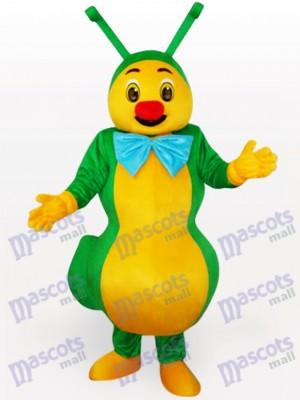 Costume de mascotte vert insecte fourmi