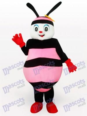 Costume de mascotte adulte insecte rose abeille