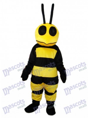 Strange Mouth Bee mascotte Costume adulte insecte