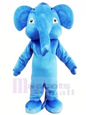 Blau Erwachsene Elefant Maskottchen Kostüme Tier