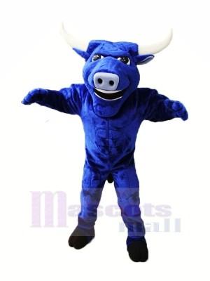 Fort Bleu Taureau Mascotte Les costumes Animal