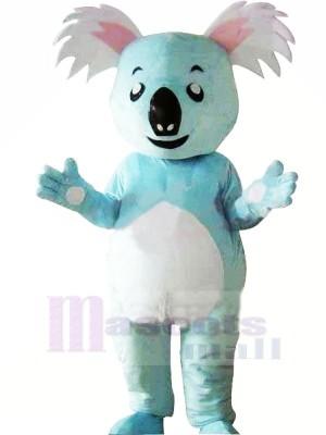 Mignonne Bleu Koala Mascotte Les costumes Animal