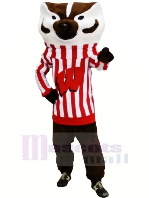 Fort Bucky Blaireau Mascotte Les costumes Animal