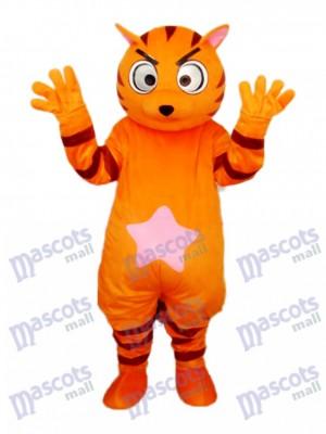 Déguisement de mascotte chat Orange Star Animal