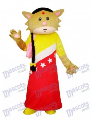 Catwoman Mascotte Costume adulte Animal
