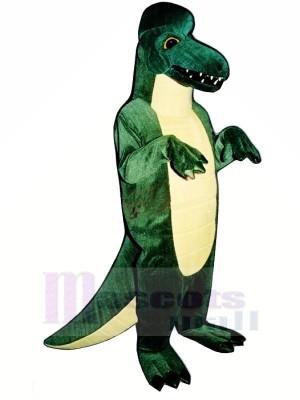 vert Dinosaure Adulte Mascotte Les costumes Animal