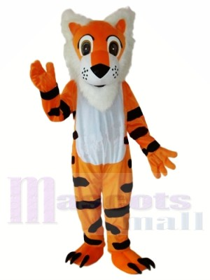 Tigre à longue barbe Mascot Costume Adulte Livraison gratuite