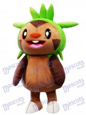 Costume de mascotte de Chespin Pokémon Pokémon GO Monstre de poche Type de mascotte de Chespie