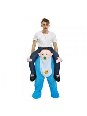 Bébé Porter moi Balade sur Fantaisie Robe Costume pour Adulte/enfant