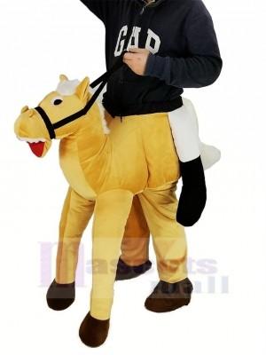 Ferroutage Poney Porter Moi Balade sur Cheval Mascotte Costume