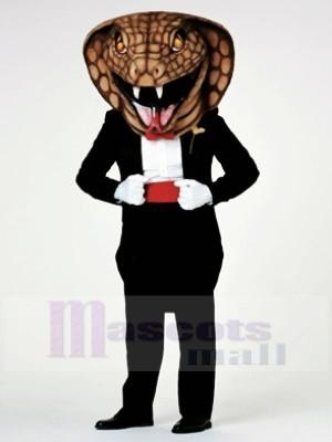 Gentilhomme Cobra Serpent Mascotte Les costumes