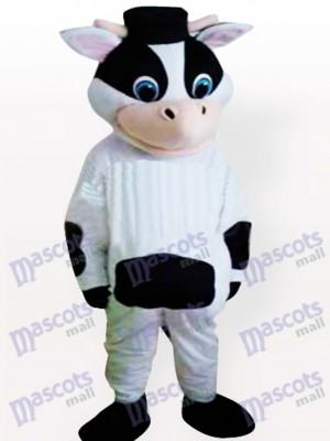Costume drôle mascotte adulte vache bizarre