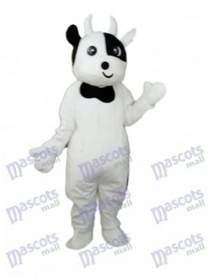 Odd Face Cow Mascotte Costume adulte Animal