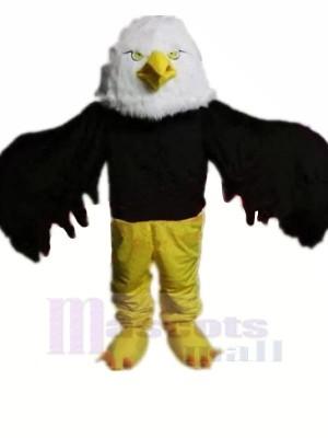 Haute Qualité Noir Aigle Mascotte Les costumes Pas cher