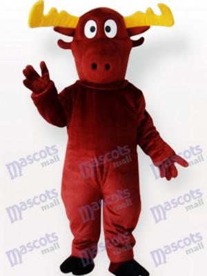 Costume de mascotte adulte renne