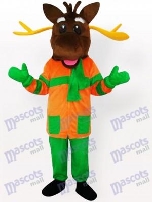 Déguisement de mascotte joyeuse Moose Moose