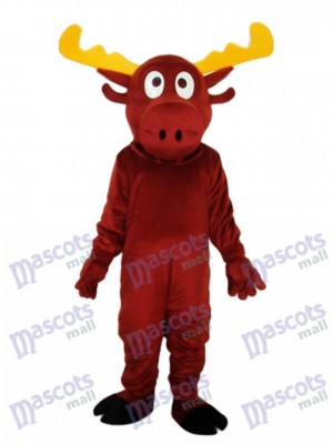 Renne mascotte Costume adulte Animal