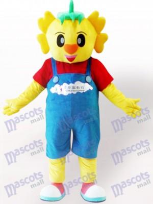 Costume de mascotte de poupée de dinosaure adulte