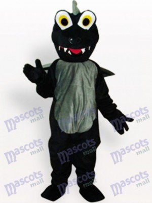 Costume de mascotte adulte animal dinosaure noir