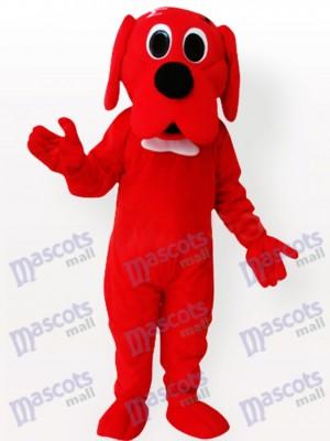 chien rouge Costume de mascotte adulte
