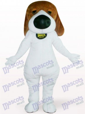 Chien avec Costume de mascotte adulte animal Big Nose