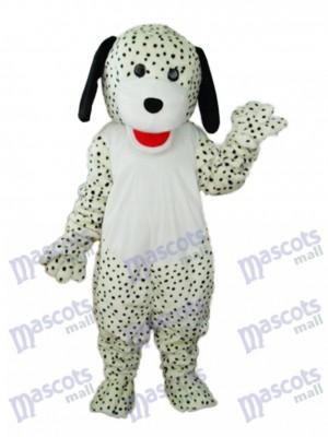 Costume de mascotte de chien coloré tacheté adulte