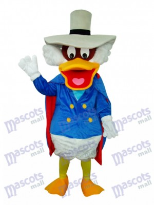 Donald Duck with Pot Hat Mascot Costume Cartoon Anime