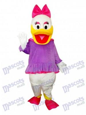 Violet Marguerite canard Mascotte Costume Dessin animé Anime