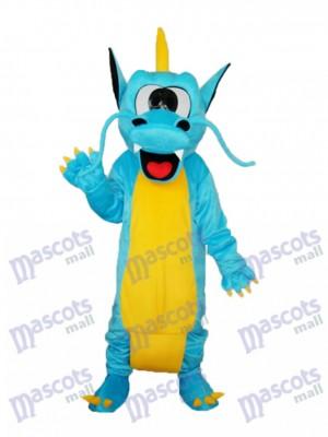 Dents dentelées Dragon Mascotte Costume adulte Animal