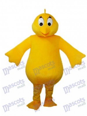 Big Belly Jaune Poulet Adulte Mascotte Costume Animal