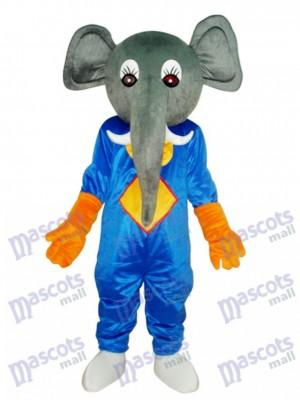 Mascotte d'éléphant Costume adulte Animal