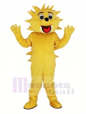 Lumière marron Hérisson Mascotte Costume Animal