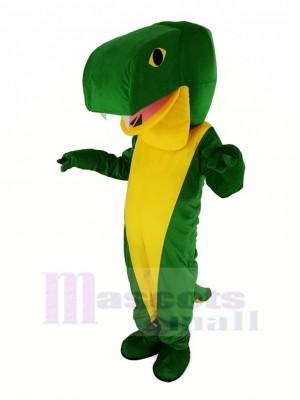 vert Serpent Mascotte Costume Animal