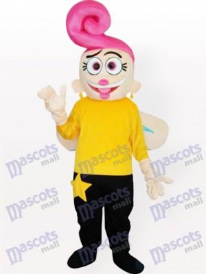 Costume de mascotte adulte ange grenouille