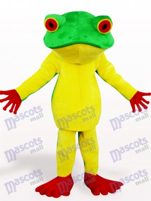 Costume de mascotte adulte animal grenouille