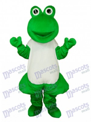 Mascotte de grenouille impaire Costume adulte