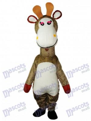 Costume de mascotte girafe adulte