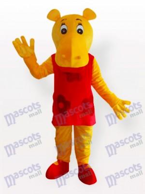Costume de mascotte adulte Miss Hippo