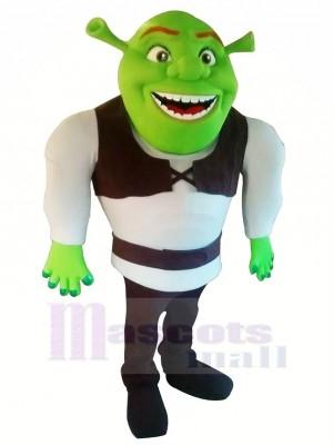 Marrant Shrek Mascotte Les costumes Dessin animé