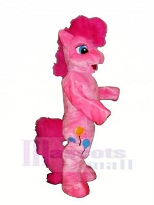 Rose Poney Cheval Mascotte Les costumes Dessin animé