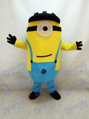 Moi, moche et méchant Despicable Me Minions Costume de mascotte avec chapeau