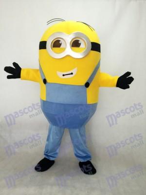 Moi, moche et méchant Despicable Me Minions Costume de mascotte de deux yeux
