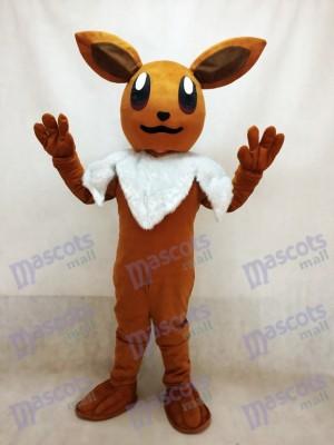 Pokémon Pokemon Go Eevee Eievui Costume de mascotte marron