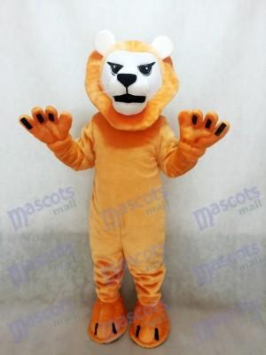 Déguisement de mascotte de lion moyen féroce