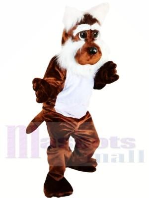 Mignonne marron Chien Mascotte Les costumes Animal