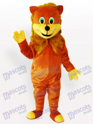 Costume de mascotte animal adulte Lion africain